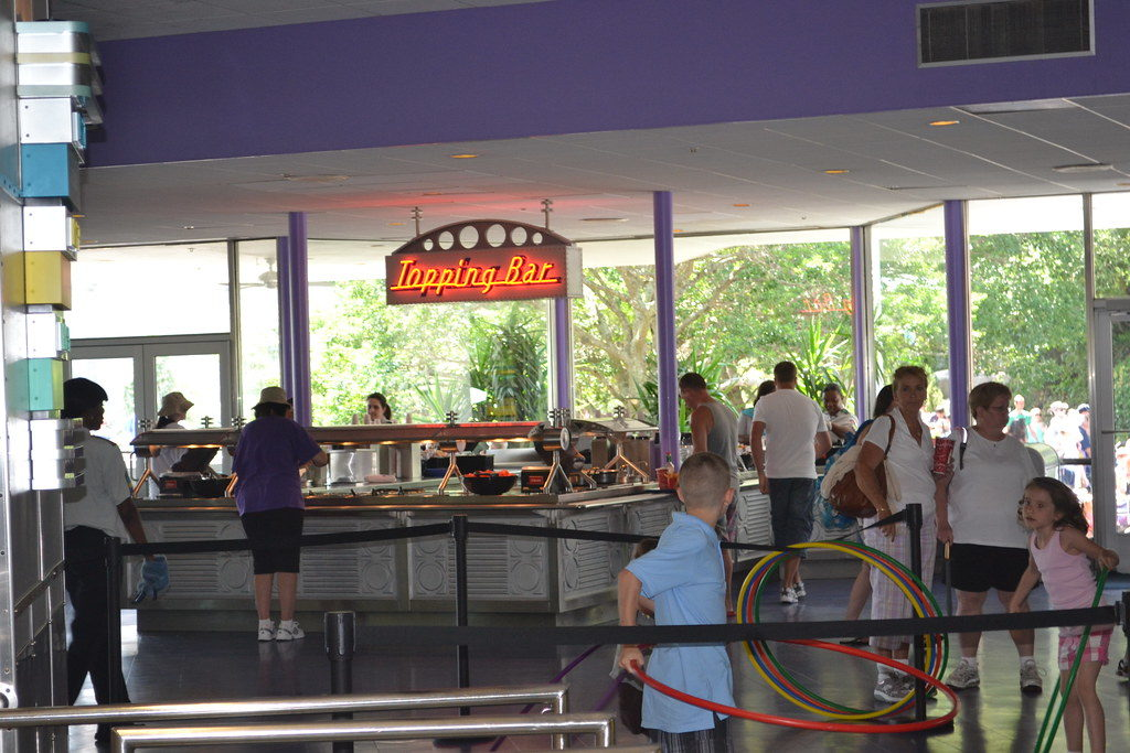 cosmic ray's topping bar