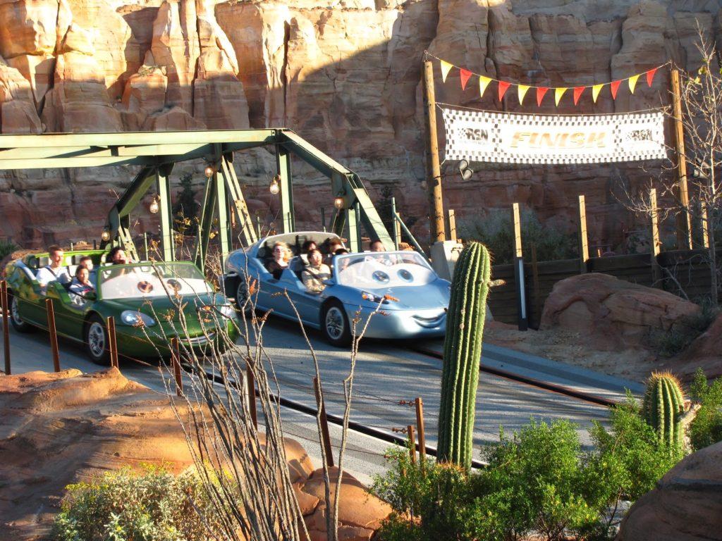 Radiator Springs Racers - Disney's California Adventure