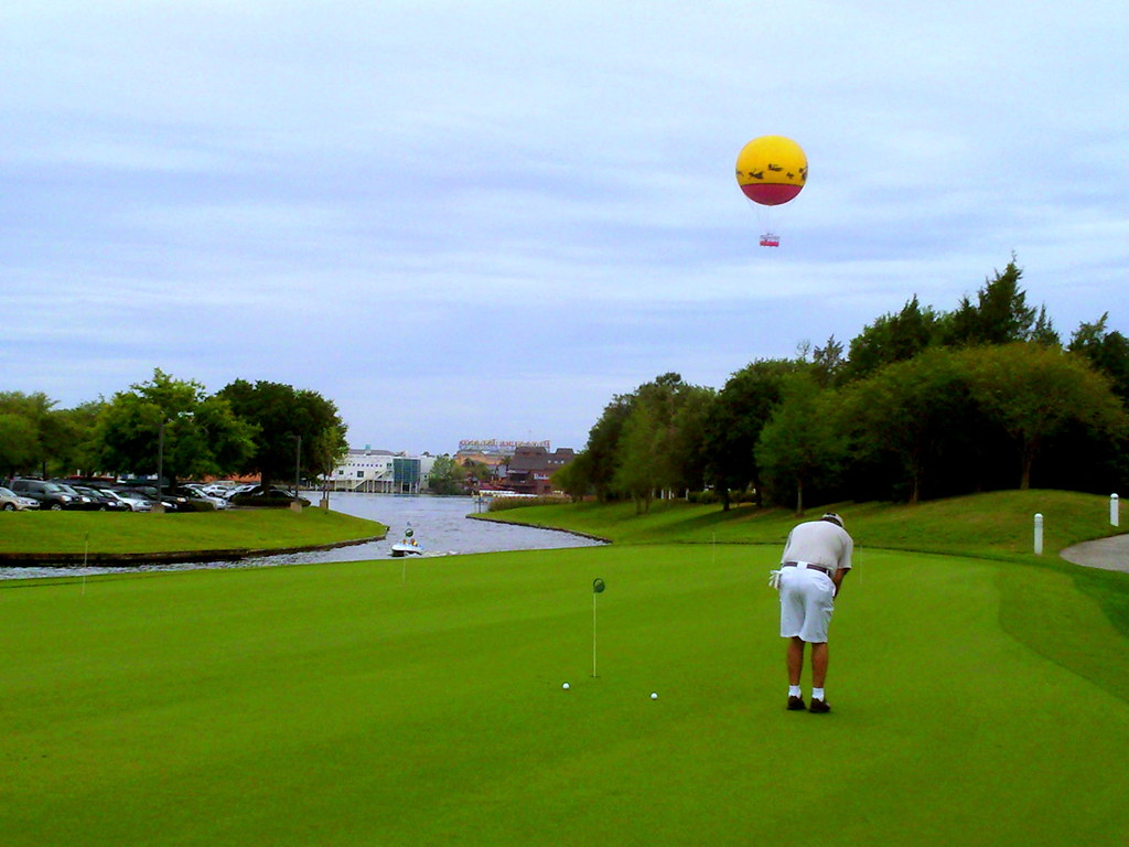 Golfing At A Disney Resort