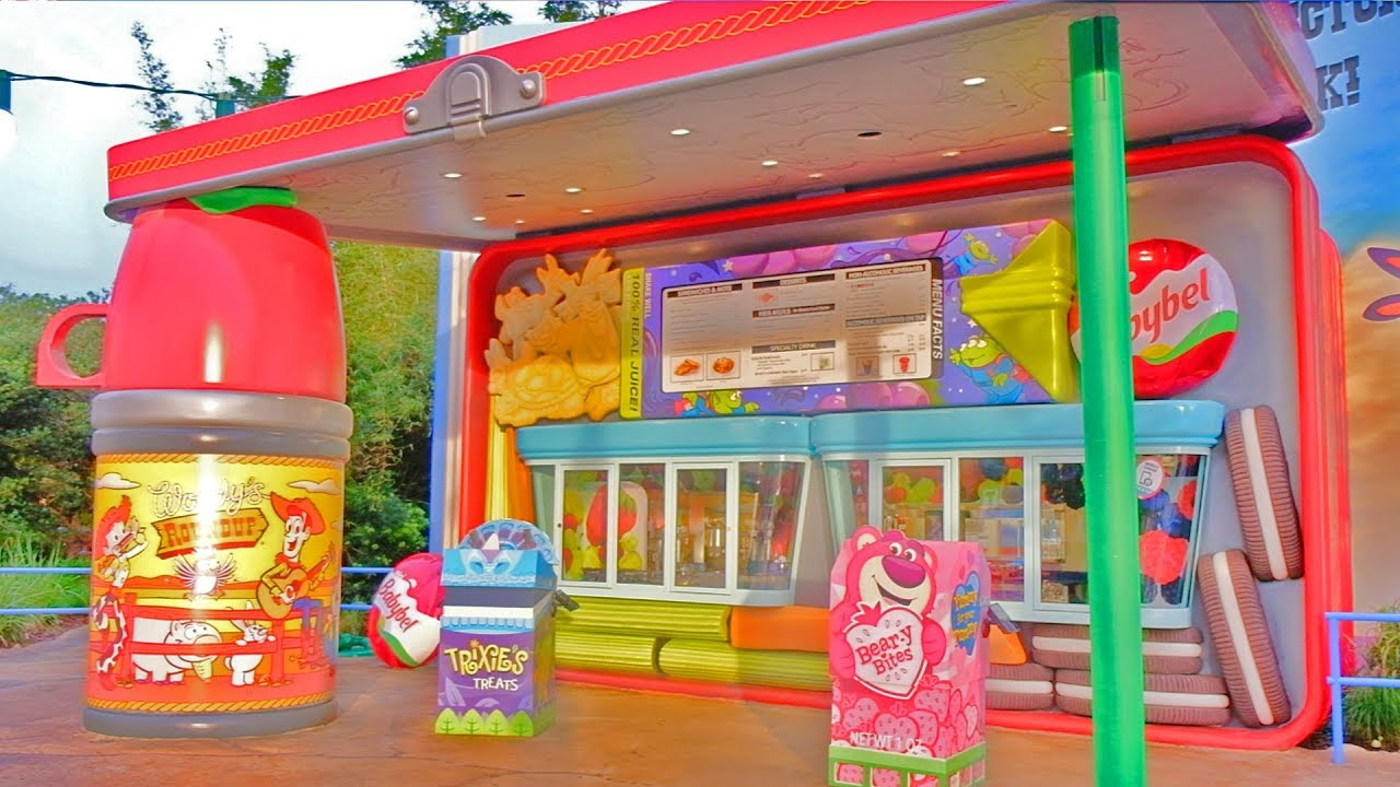 Woody's Lunchbox, Toy Story Land at Hollywood Studios