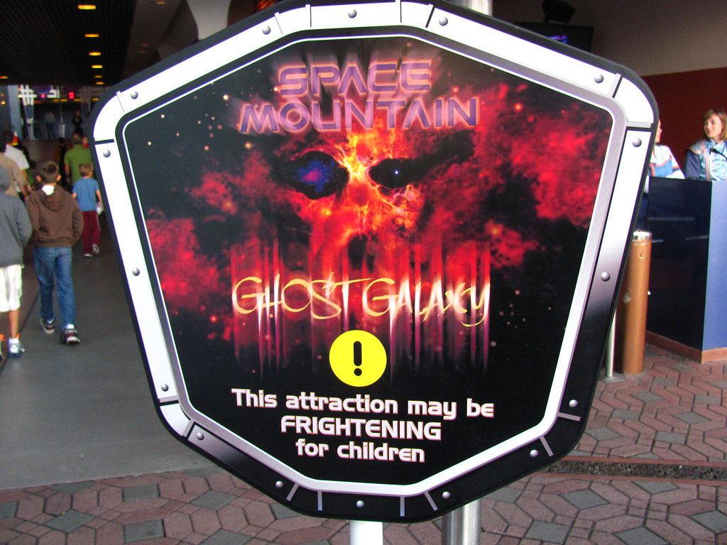 Space Mountain Ghost Galaxy - Hong Kong Disneyland & Disneyland, California