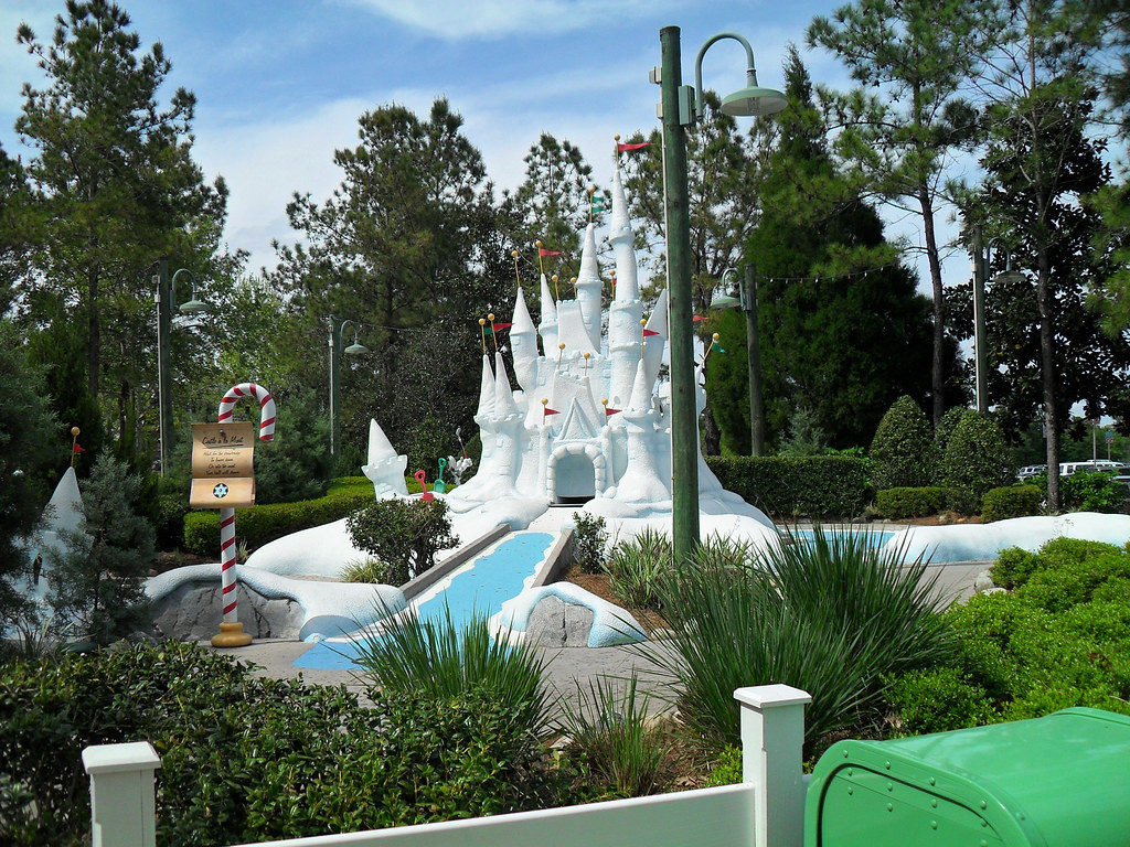 Disney Miniature Golf