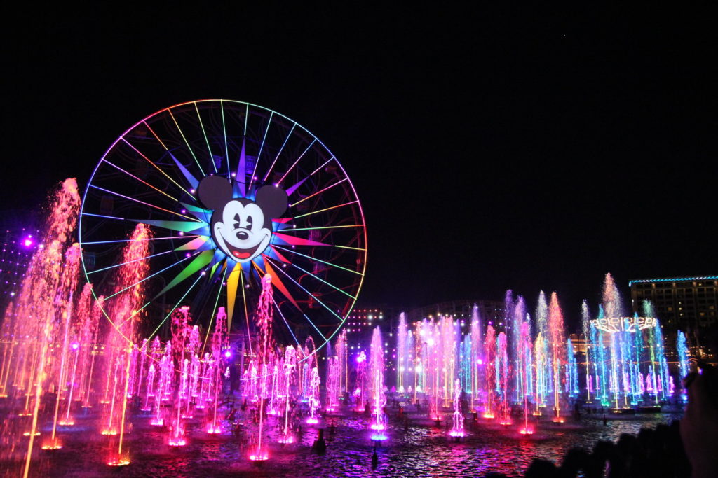 World of Color - Disney's California Adventure