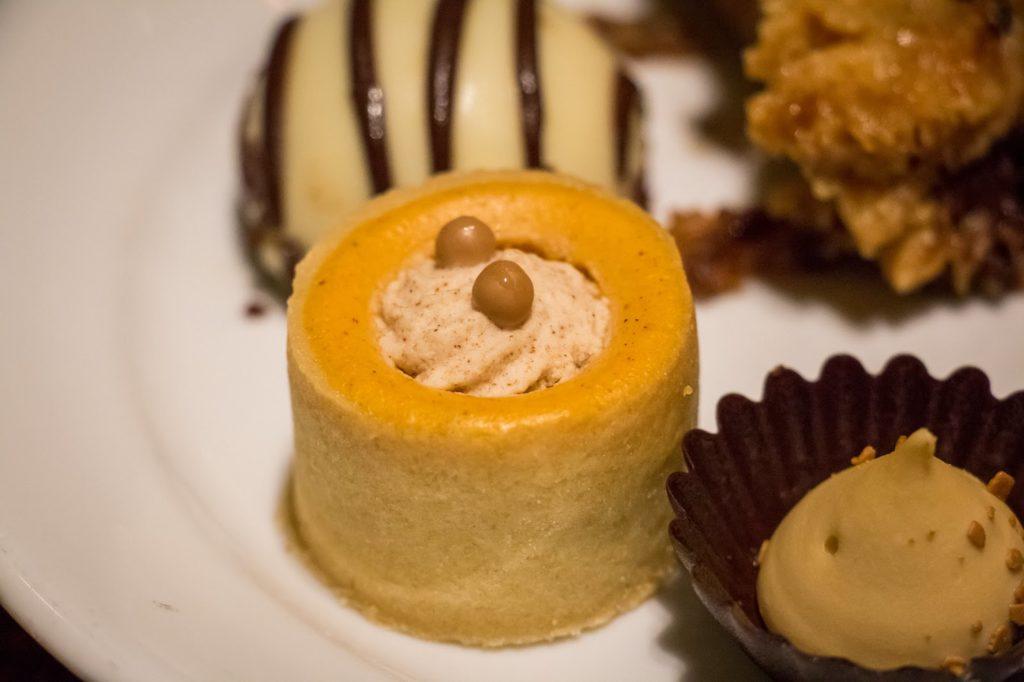 a beautiful dessert at Boma buffet