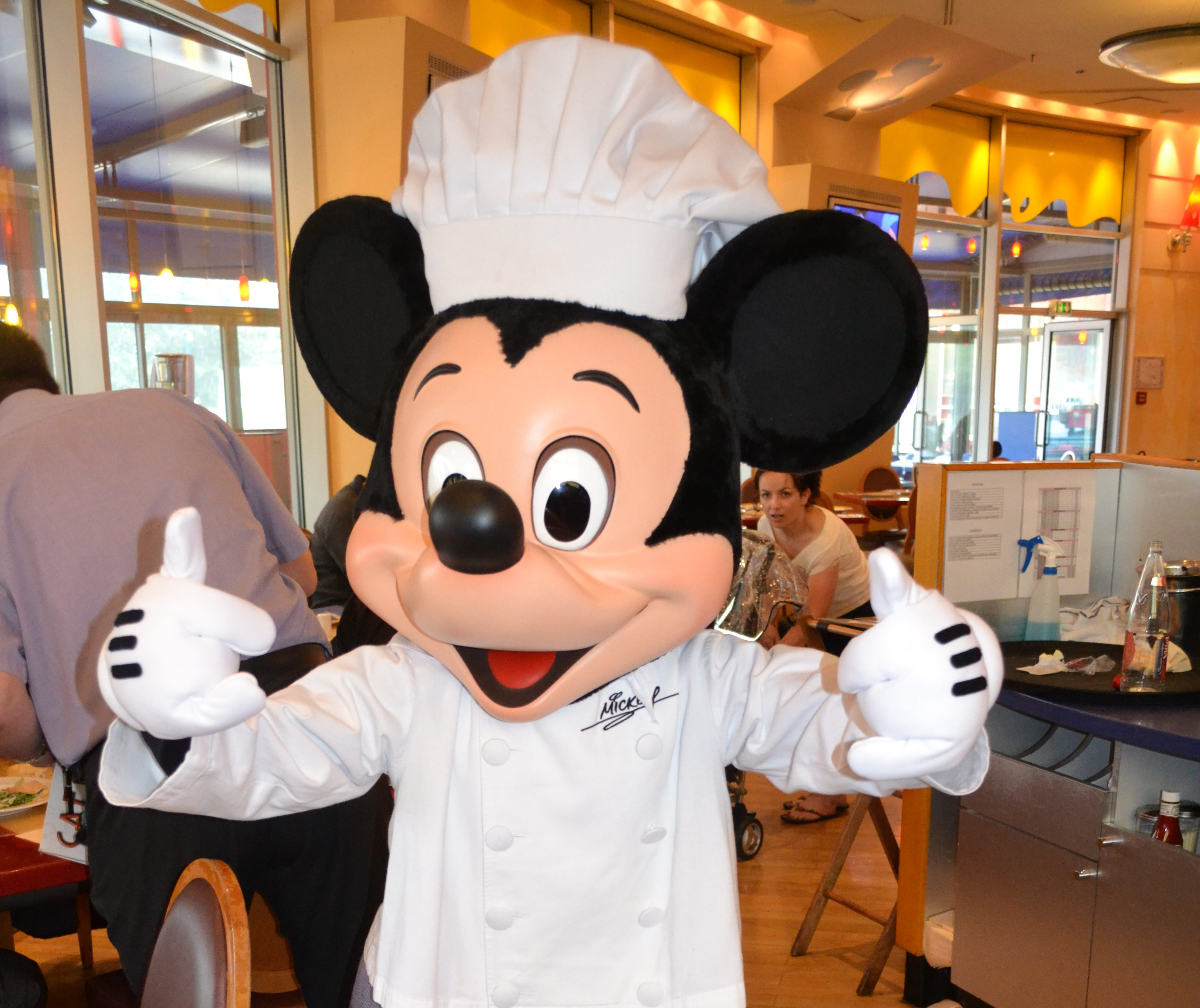 Chef Mickey Character Dining