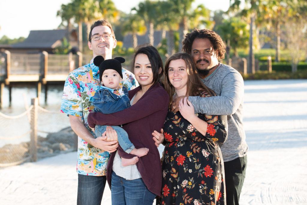 family on vacation at disney vacation club
