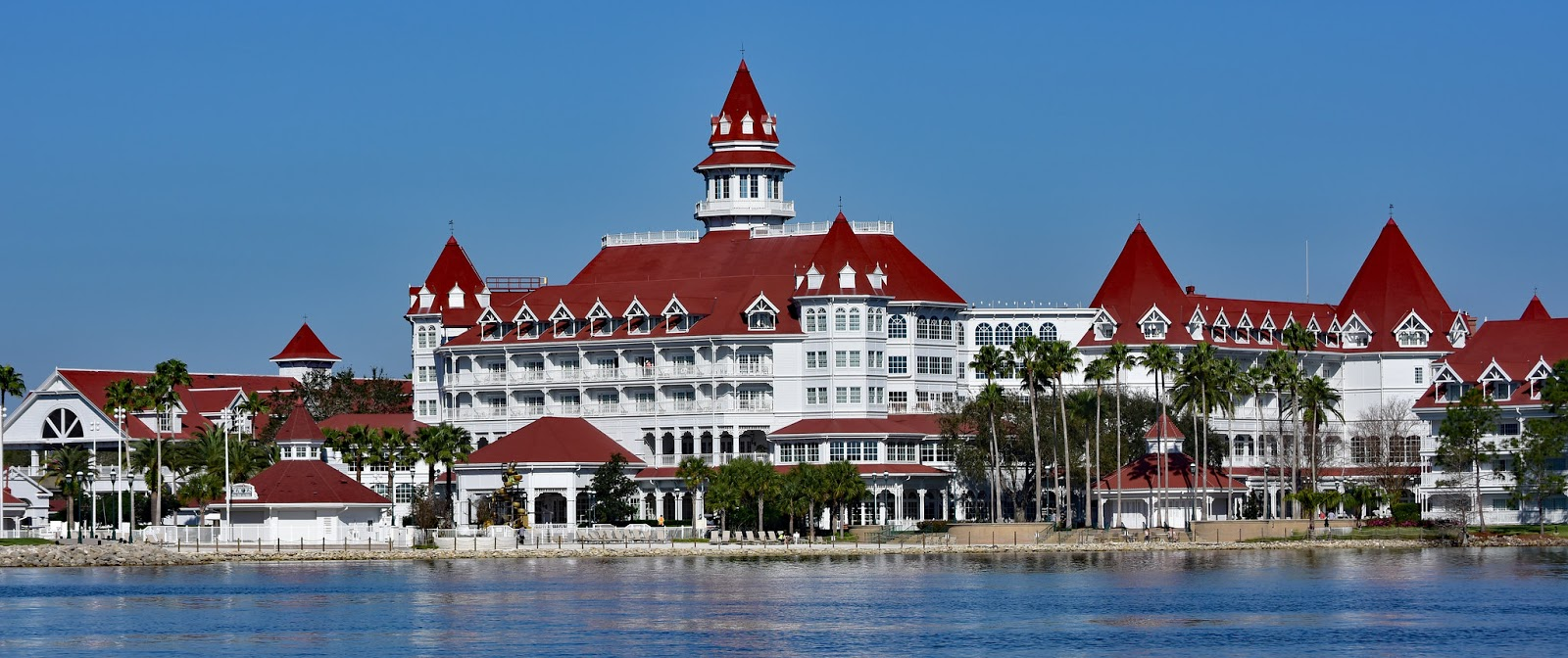 Wide angle of Disney Grand Floridian Resort