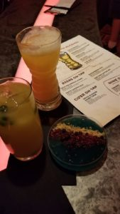 drinks and other refreshments at star wars galaxy's edge