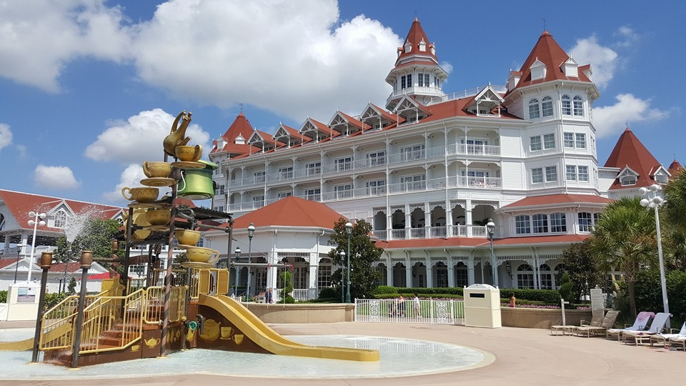 Disney DVC Grand Floridian Kid Pool