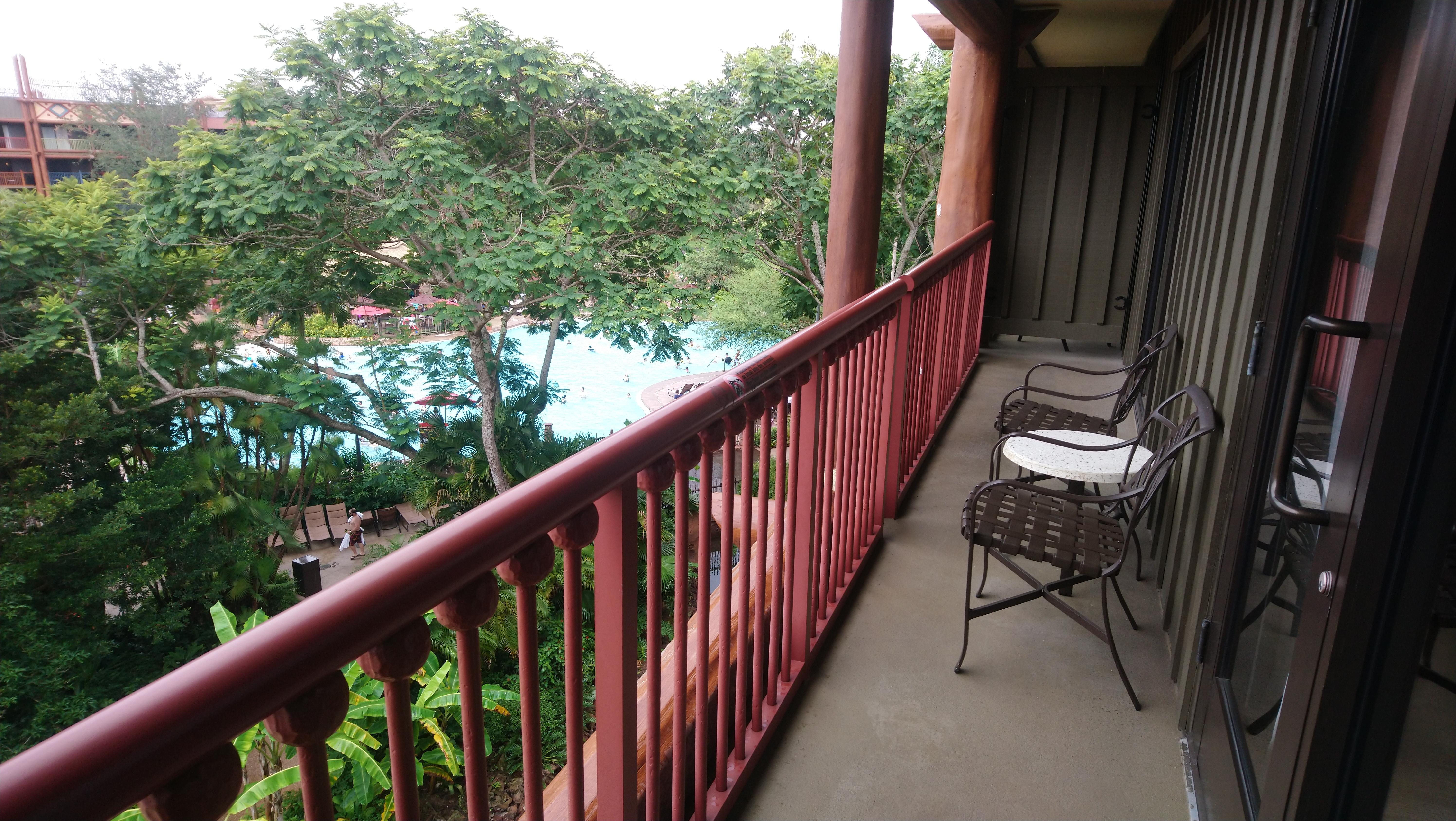 animal kingdom lodge balcony