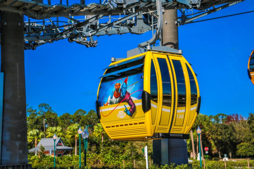 Disney Riviera Resort Skyliner