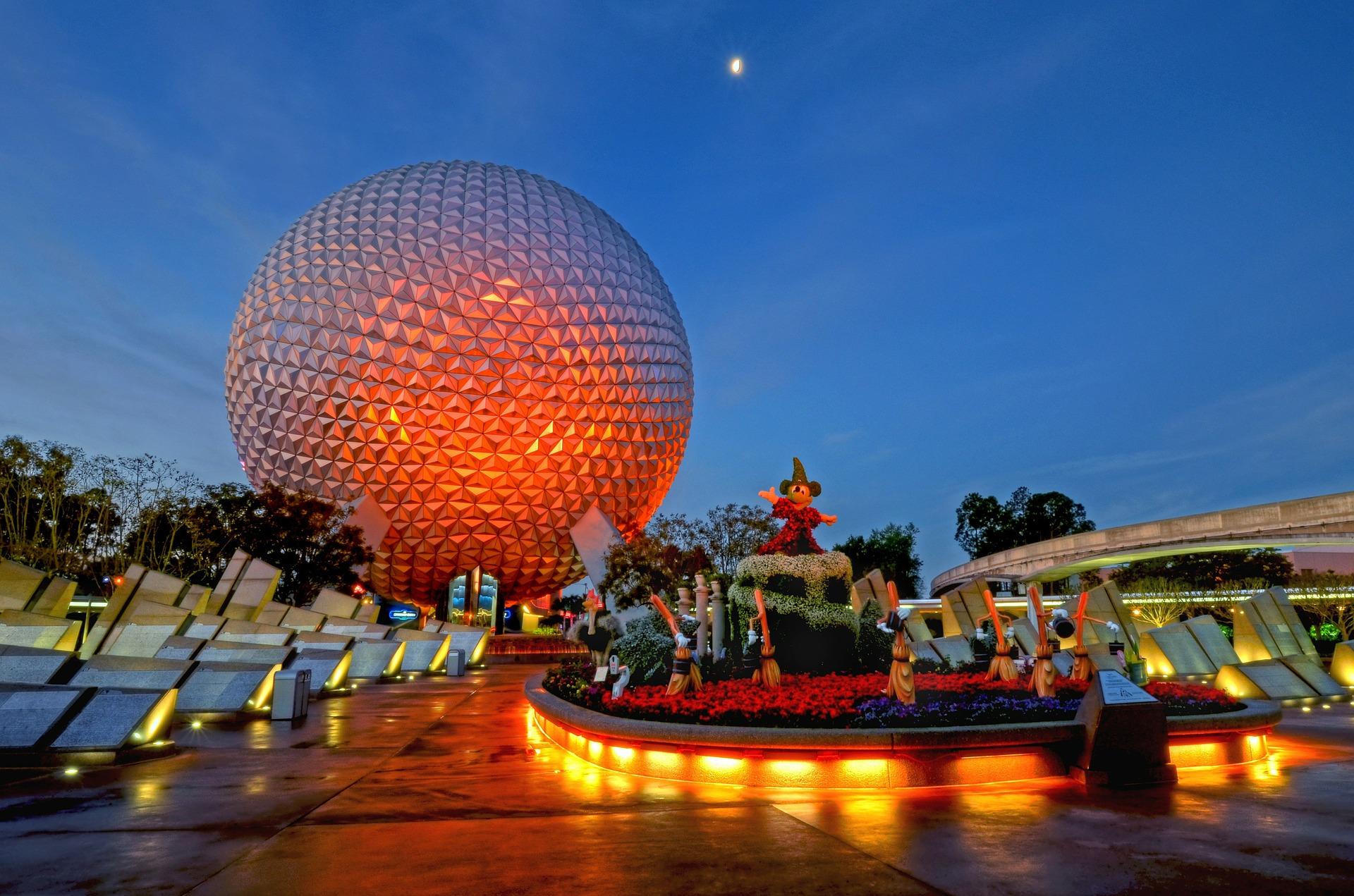 Disney Epcot Spaceship Earth closure