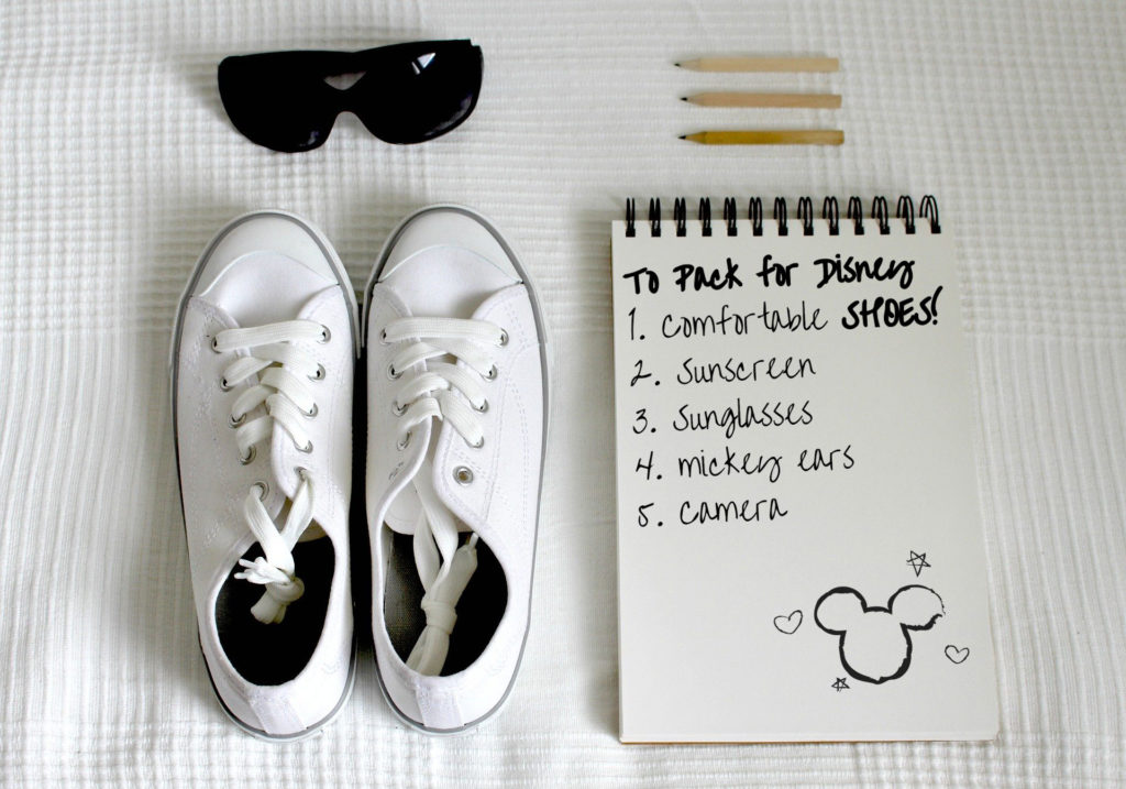 Best shoes for Disney vacation
