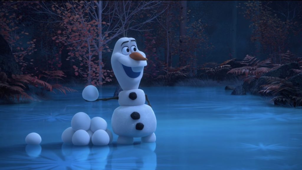 Disney Magic Moments Frozen Olaf