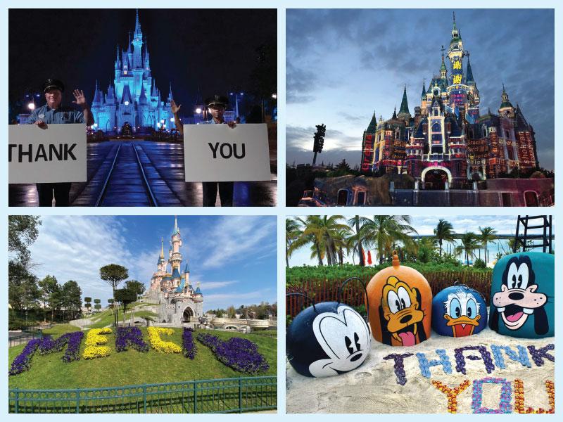 Disney shows support during coronavirus
