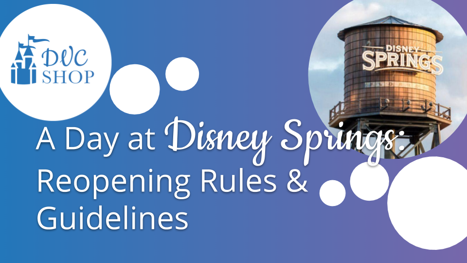 Thumbnail for Disney Springs reopening video