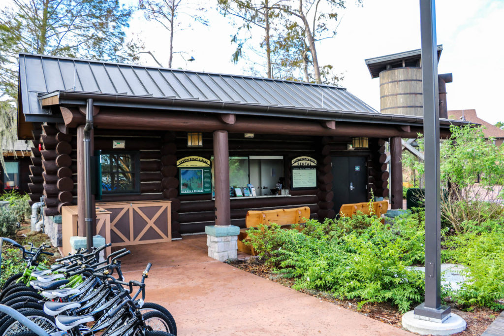DVC Copper Creek Boulder Ridge Teton Boat & Bike Rentals