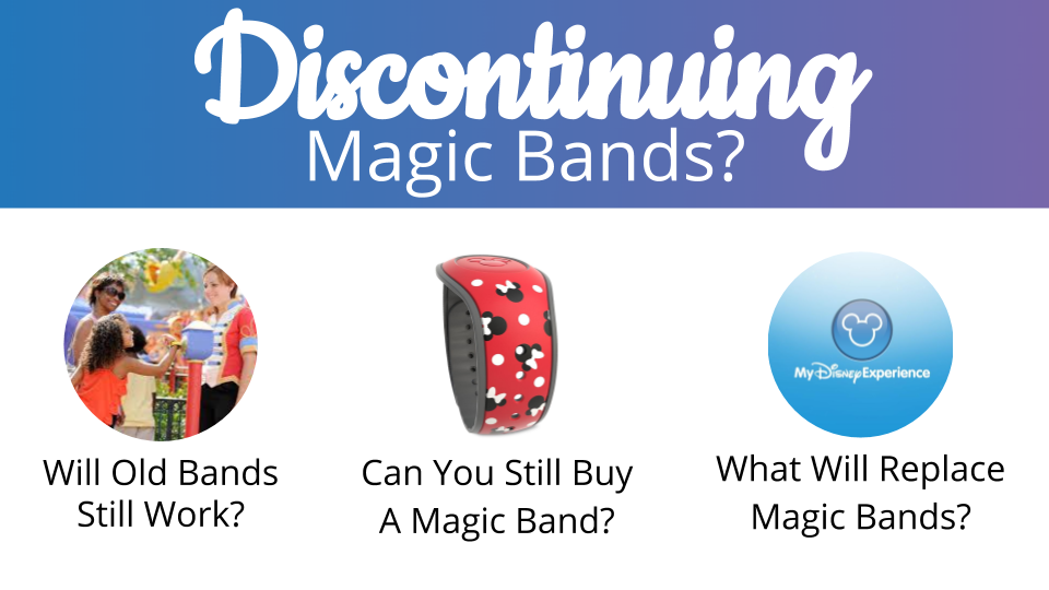 Disney Discontinuing Free Magic Bands