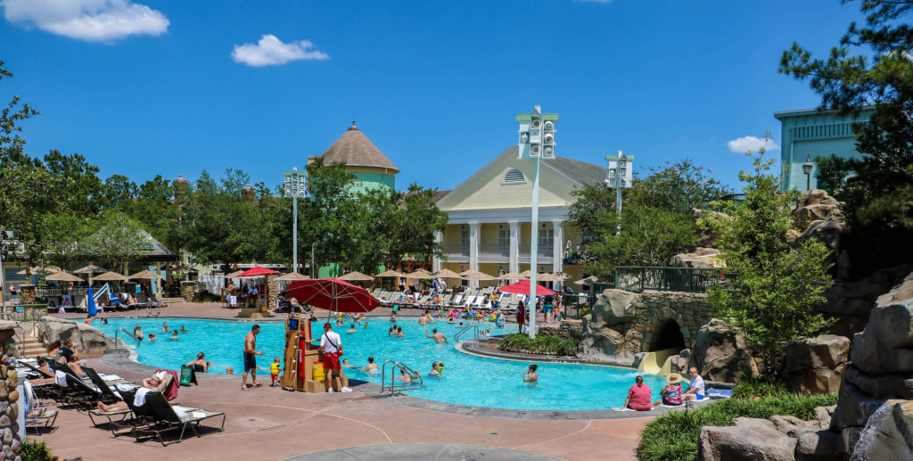 Disney DVC Resort Review Saratoga Springs Resort and Spa High Rock Springs Pool