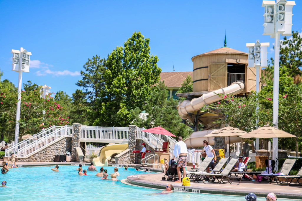 Disney DVC Resort Review Saratoga Springs Resort and Spa Paddock Pool