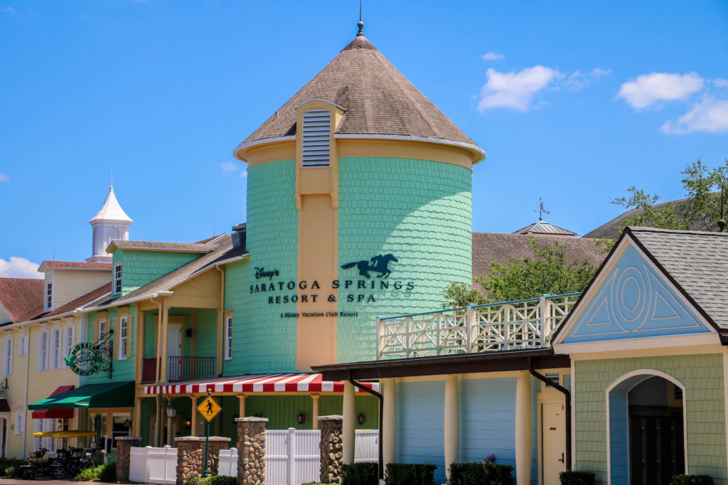 Disney DVC Resort Review Saratoga Springs Resort and Spa Watertower