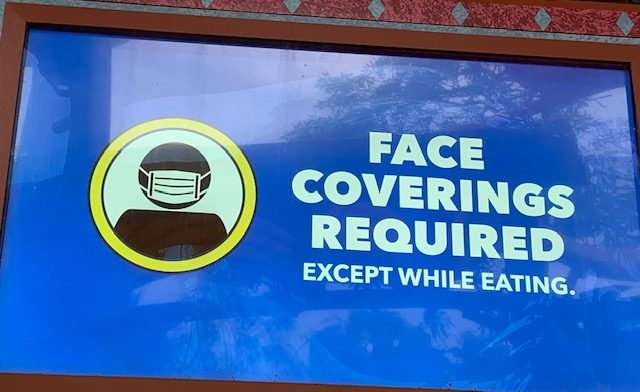 Universal reopens with face mask requirement