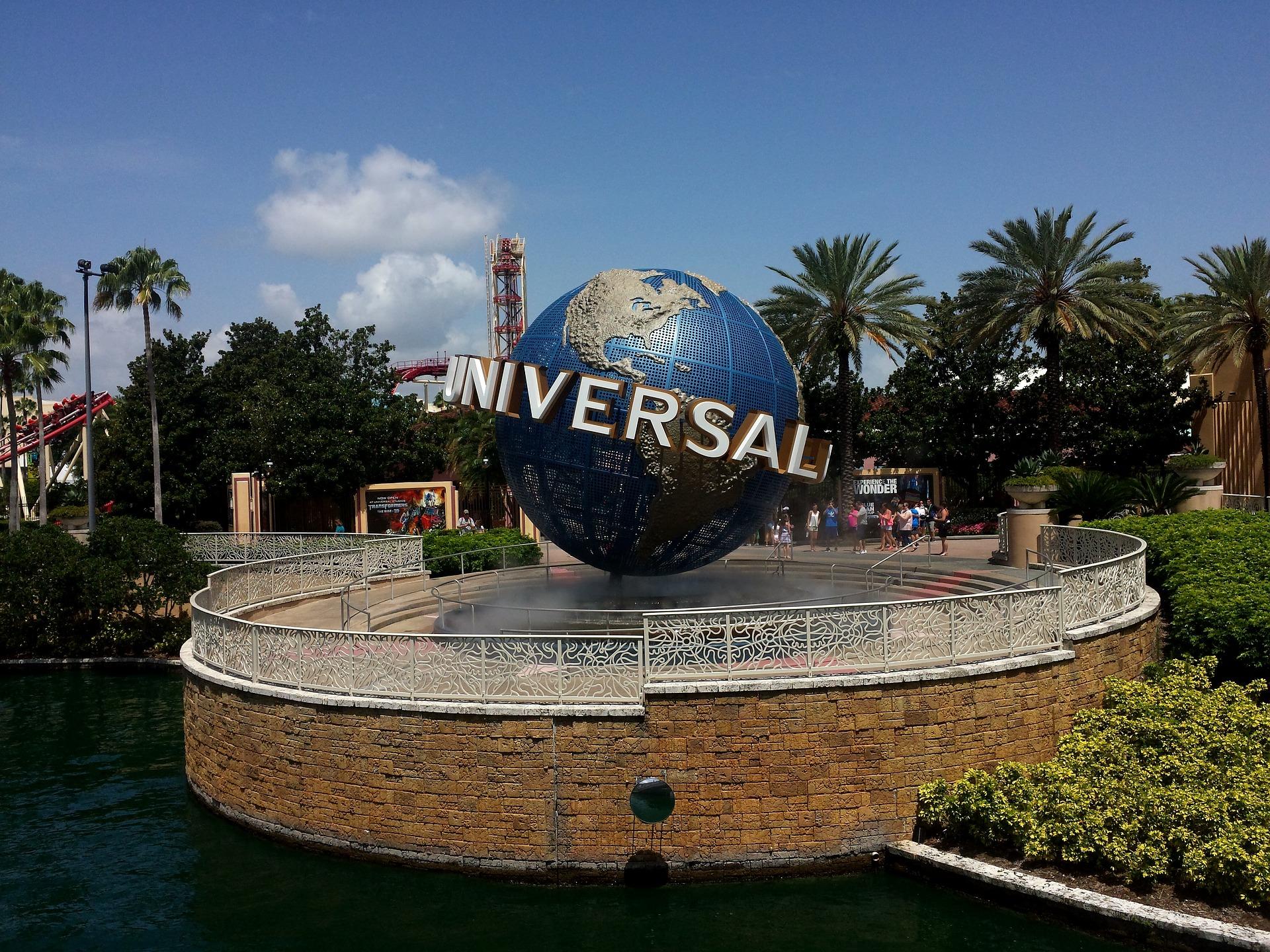 Universal Orlando Globe at Entrance