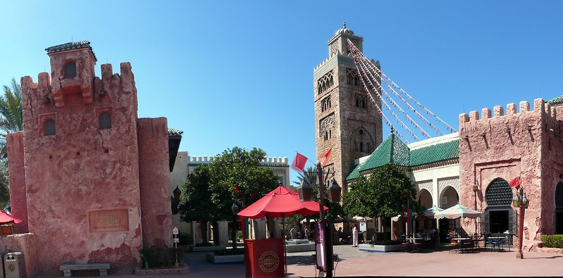 Tangierine Cafe Morocco Epcot Outdoor Dining