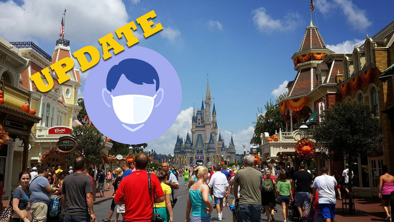 Disney updates mask policy again