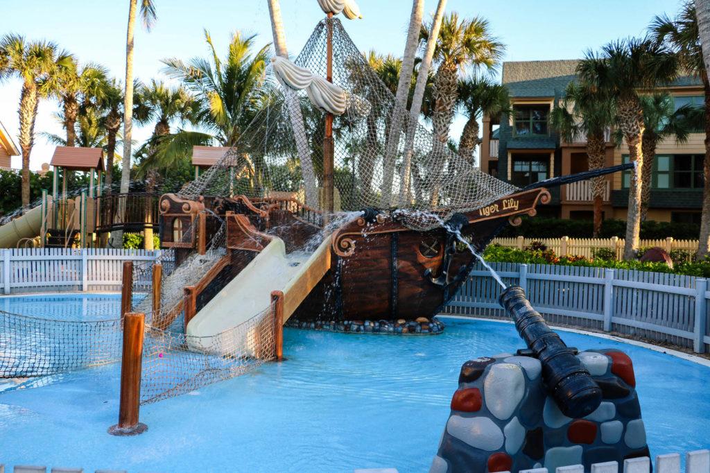 Disney DVC Vero Beach Resort Kid's Play Area