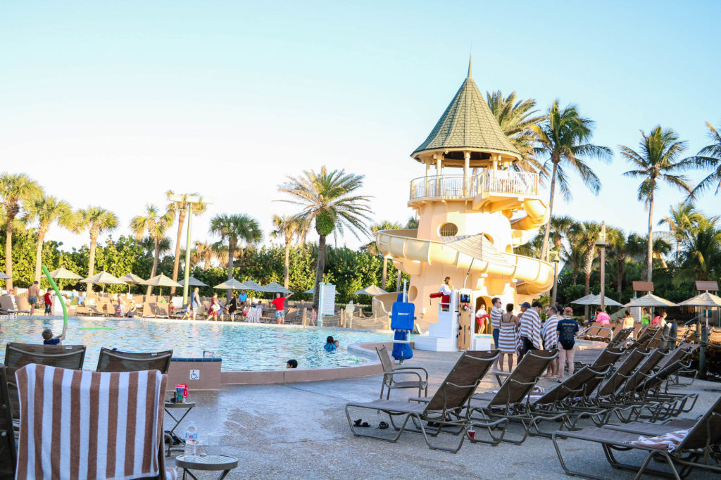 Disney DVC Vero Beach Resort Feature Pool