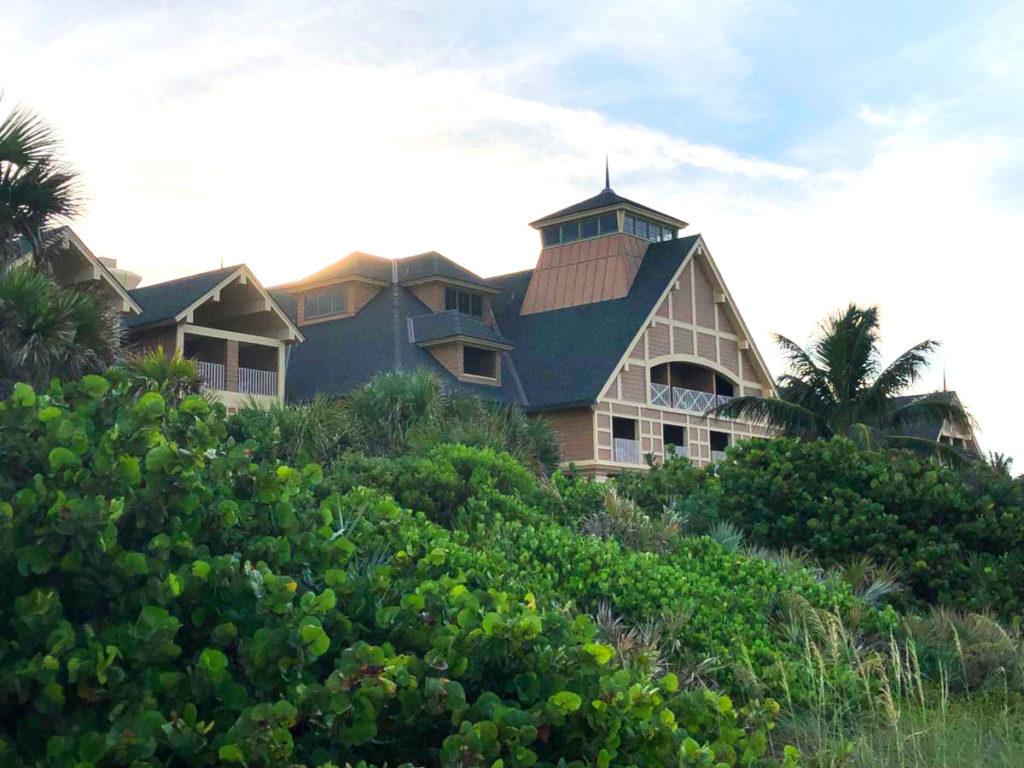 Disney DVC Vero Beach Resort view from beach
