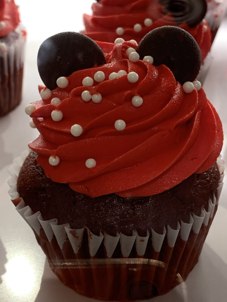 Minnie Mouse Cupcake at Magic Kingdom