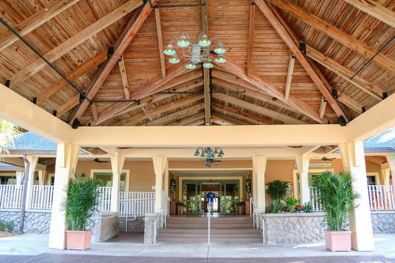 entrance to Disney DVC Vero Beach Resort