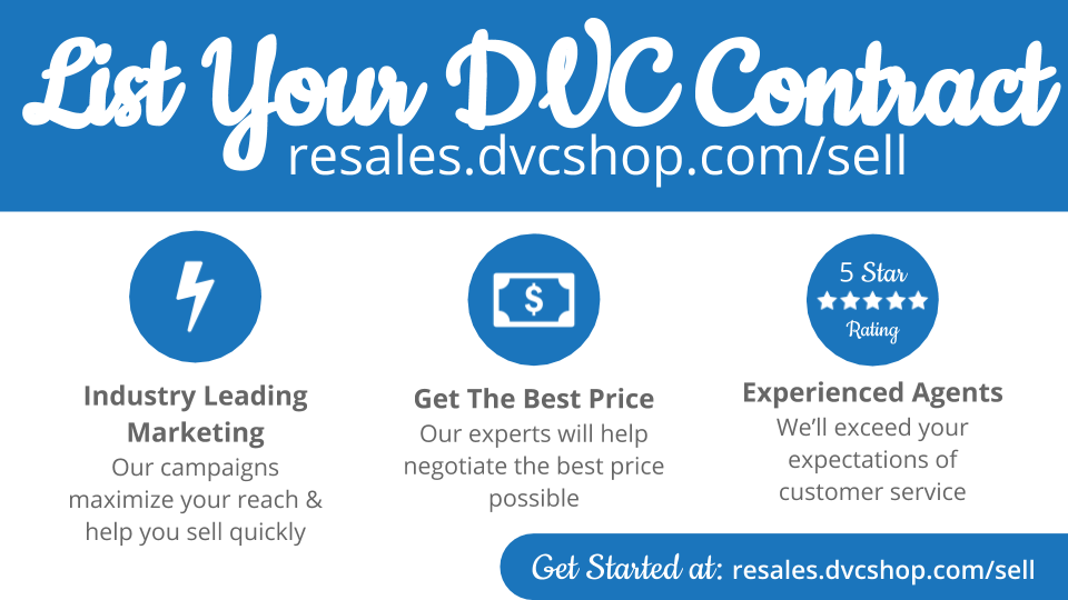 List Your DVC Contract