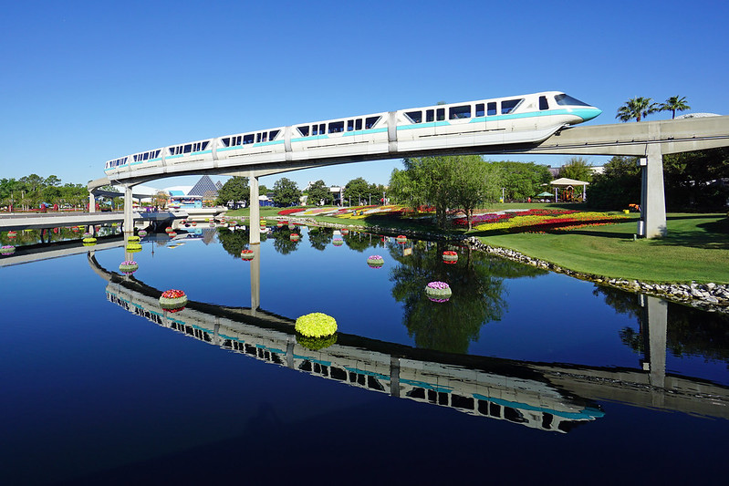 Polynesian Monorail Service to be suspended beginning. Guests can take monorail at Transportation and Ticket Center.
