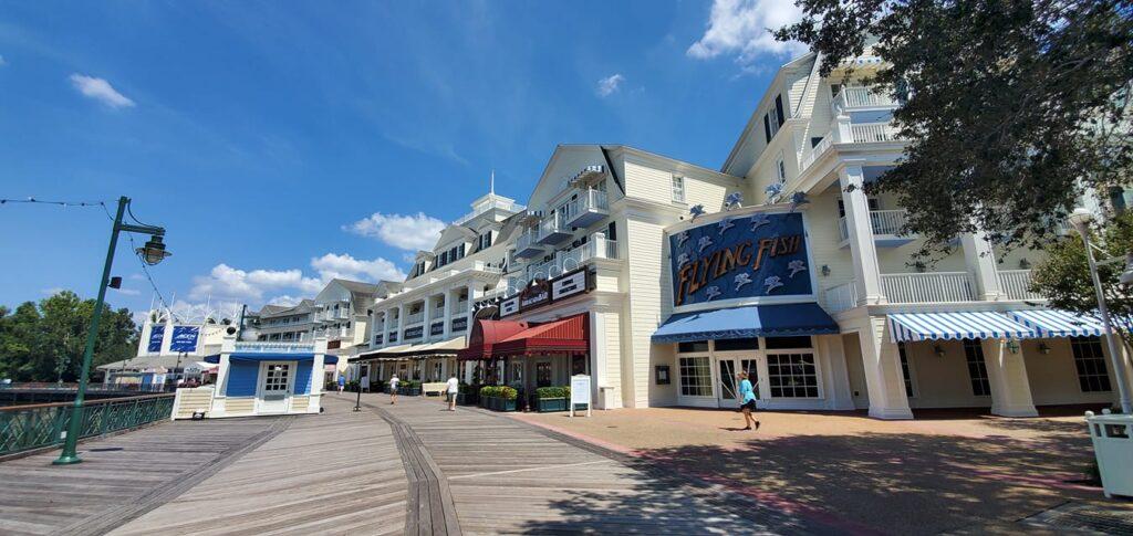 Disney's BoardWalk Inn and Beach Club Resort Remain Closed