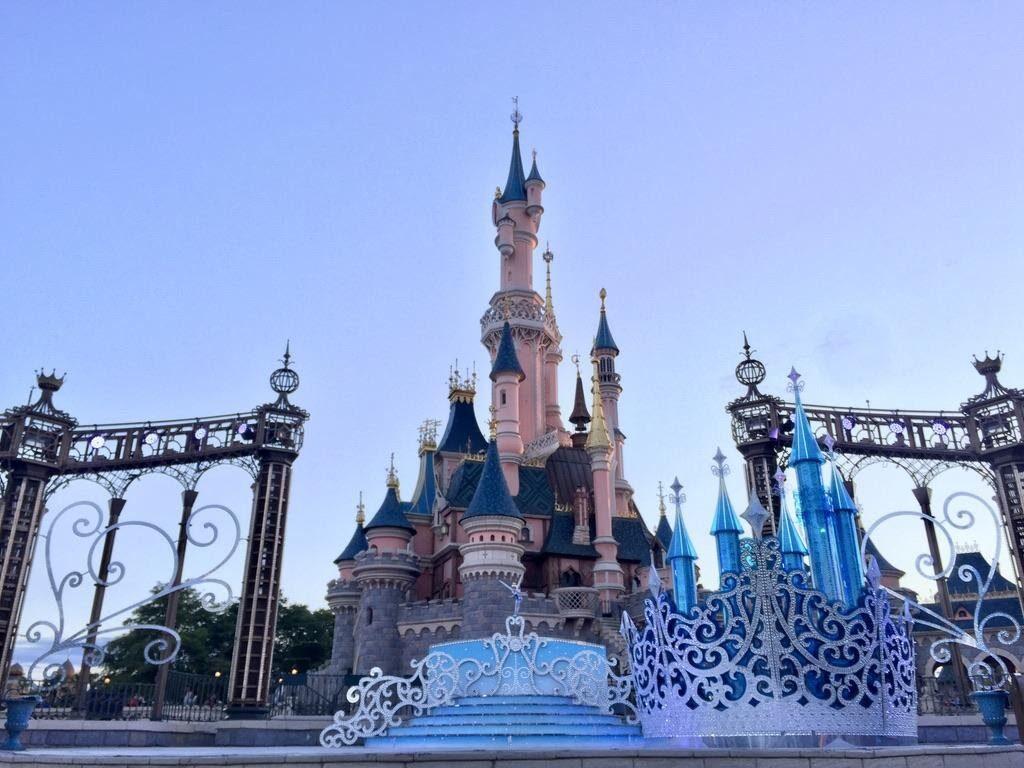 Sleeping Beauty's Castle for 25th anniversary, Disneyland Paris