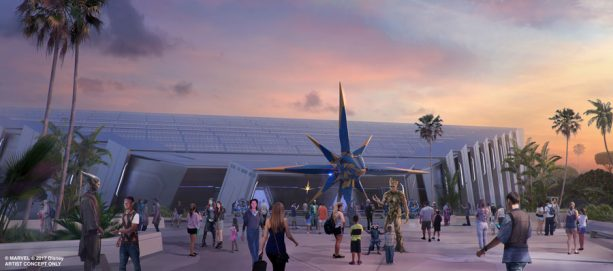 Guardians of the Galaxy ride set to open for Disney's 50th Anniversary