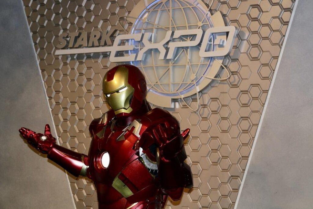 Iron Man Meet & Greet Experience, Hong Kong Disneyland
