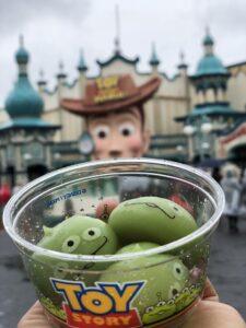 Alien Mochi snack, Tokyo Disney Sea