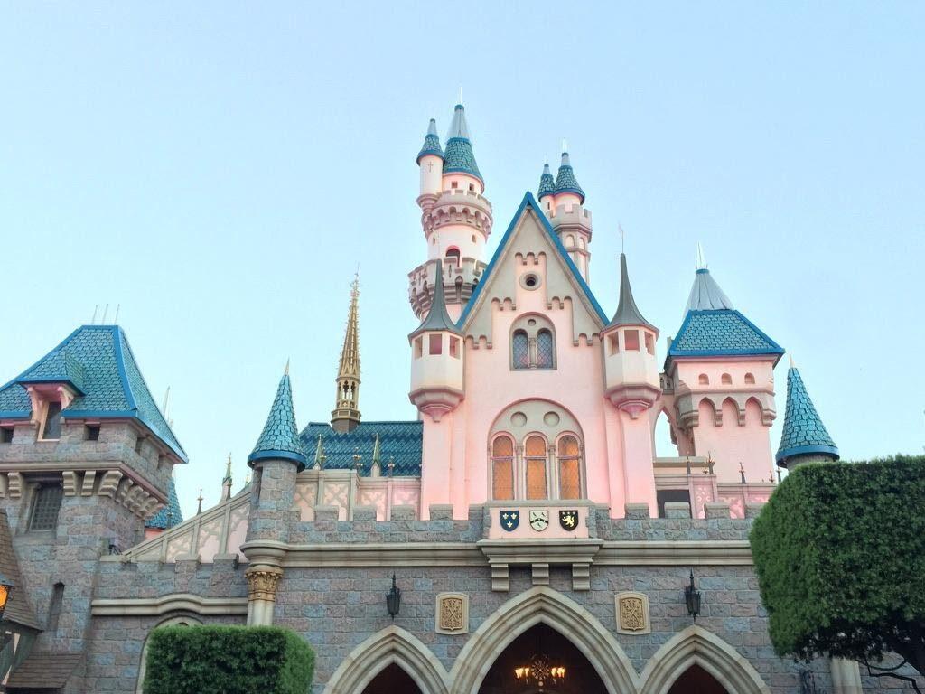 Sleeping Beauty Castle Disneyland California