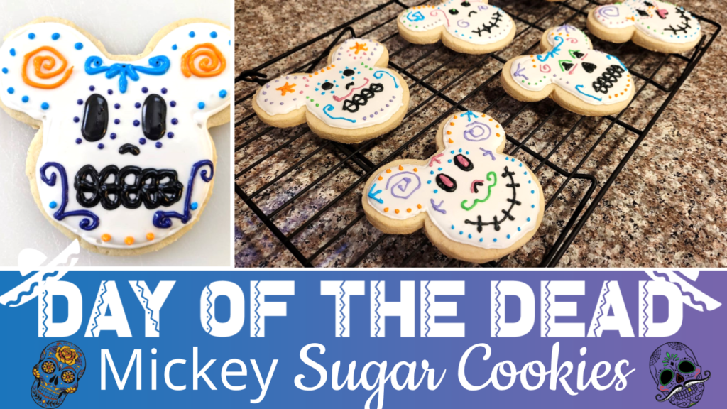 Day of the Dead Mickey Sugar Cookies Thumbnail