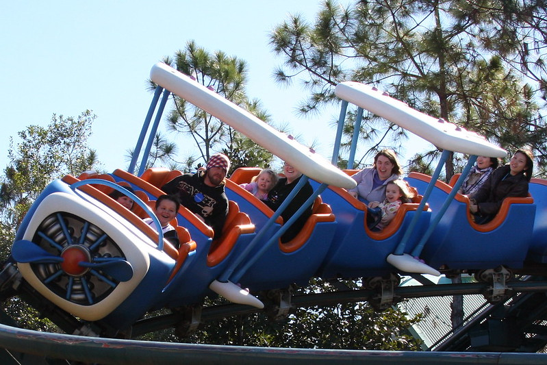 The Barnstormer at Magic Kingdom Height Restriction