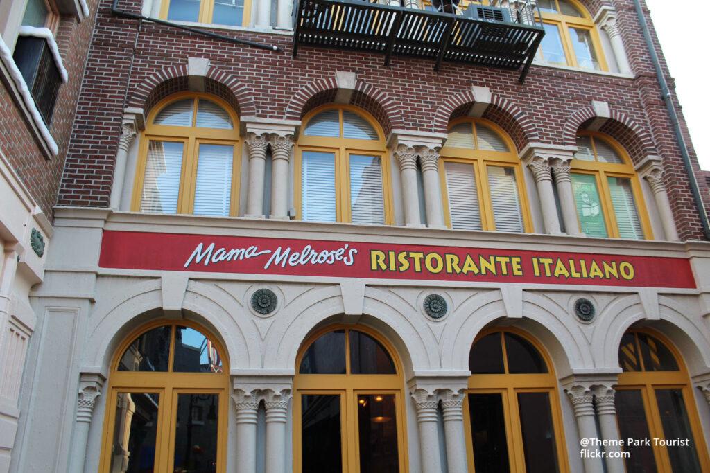 Mama Melrose Ristorante Italiano at Disney Hollywood Studios