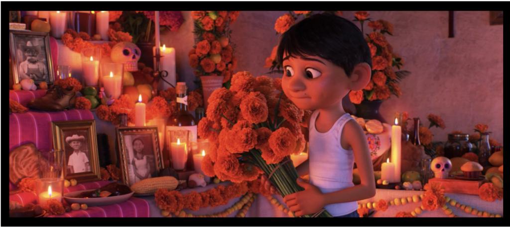 Ofrenda in Disney's Coco
