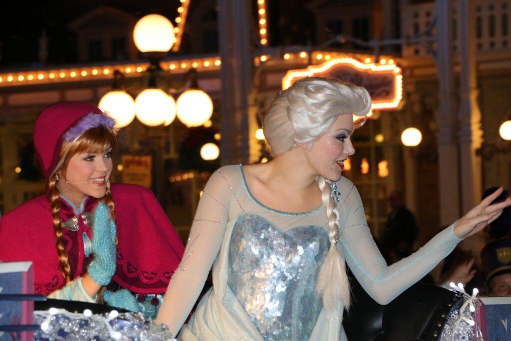 Anna & Elsa, Magic Kingdom