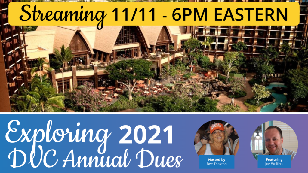 Exploring 2021 Disney Vacation Club Dues Thumbnail