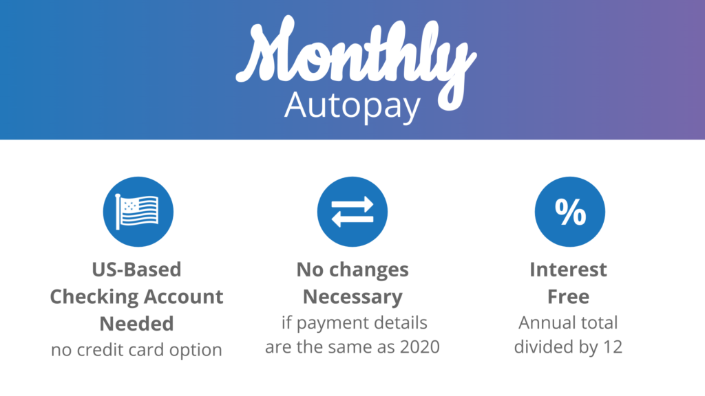 dvc dues monthly autopay considerations