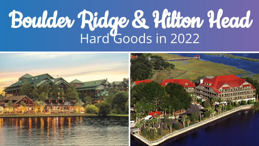 Boulder Ridge & Hilton Head Hard Good Refurbishments in 2022